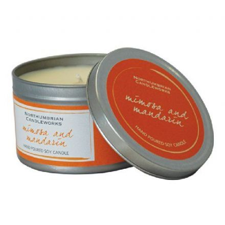 Mimosa and Mandarin Large Soy Candle